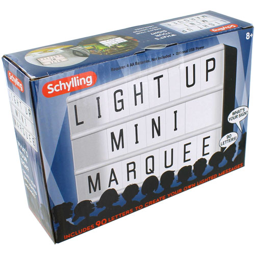 Light-Up Mini Marquee - Image two