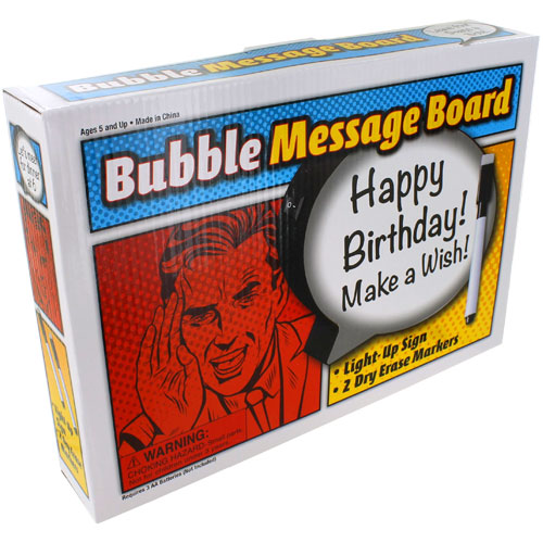 Light-Up Speech Bubble Message Board - Image one