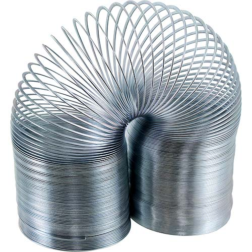Long Metal Coil Spring - Extends to 30 feet - Image one