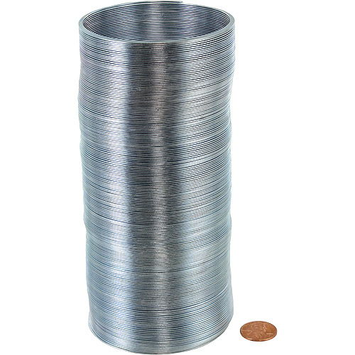 Long Metal Coil Spring - Extends to 30 feet - Image two