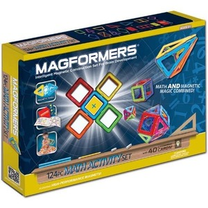 Magformers Math Activity Set - 124pc - Image One