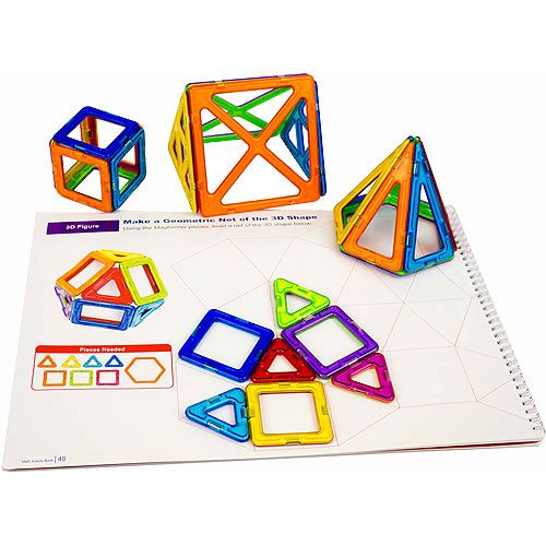 Magformers Math Activity Set - 124pc - Image two