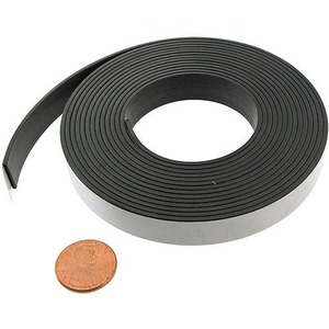 Adhesive Magnet Strip - 10ft Roll - Image One