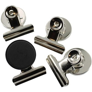 Magnetic Metal Clips - set of 4 - Image One