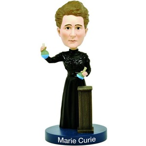 Marie Curie Glow Bobblehead - Image One