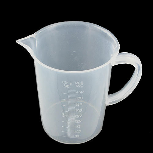 Measuring Plastic Jug with Handle - Image one