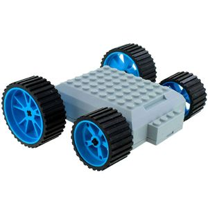 MeeperBOT V2.0 - Blue Wheels - Image One