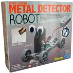 Metal Detector Robot 4M Kit.