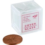 Photo of the: Microscope Cover Glass - 1oz 18x18mm