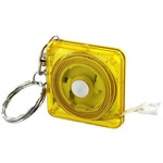 Mini Cloth Measure Keychain.