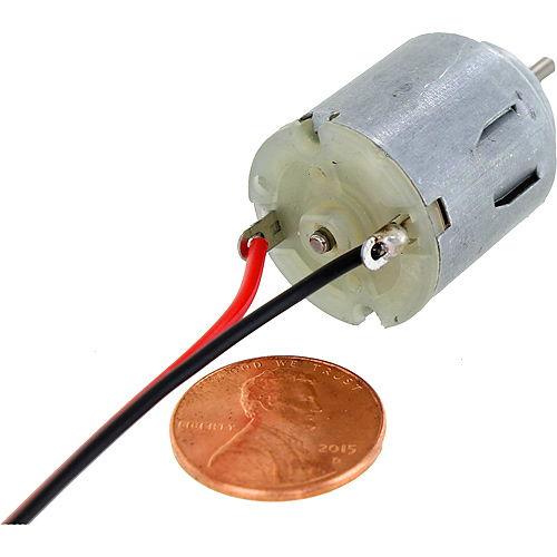 Mini hobby dc motor 3 6v by for Dc electric motor repair