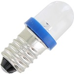 Mini LED Light Bulb - Blue - 3V DC E10.