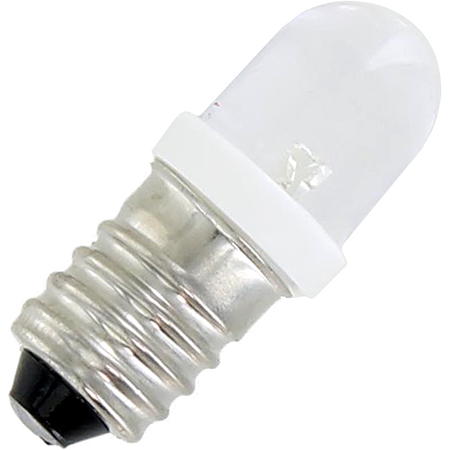 Mini LED Light Bulb - White - 3V DC E10 - Image one