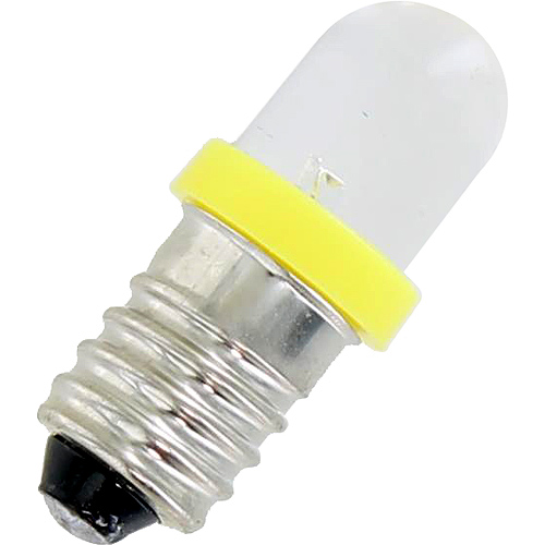 Mini LED Light Bulb - Yellow - 3V DC E10 0.06W - Image one