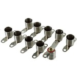 Mini E10 Bulb Socket with Terminals - Pack of 10.