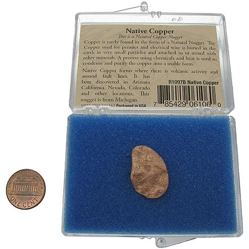 Native Copper Nugget - Image one