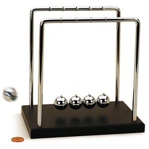 Newtons Cradle - Large - 7 inches - Image One