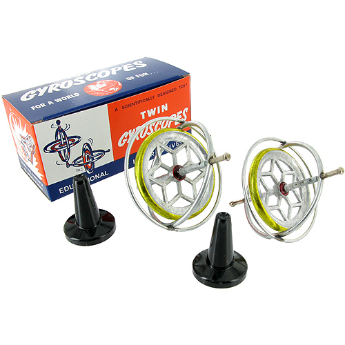 Original TEDCO Gyroscope - Retro Twin Pack - Image one