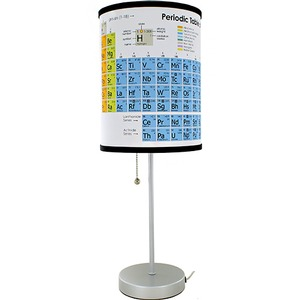 Periodic Table Lamp - Image One