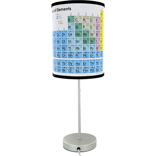 Periodic Table Lamp - Image two