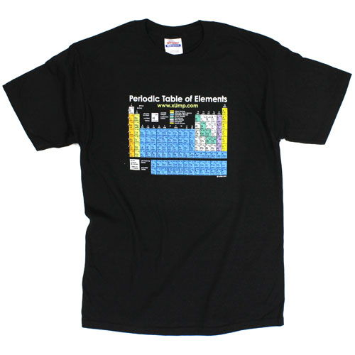 Periodic table of elements t shirt by xump periodic table of elements t shirt image one urtaz Image collections