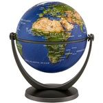 Image of Physical Blue Ocean Globe - 4 inch. Click on this image for more info.