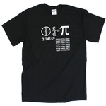 Kids Pi Math T-Shirt.