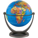 Image of Political Blue Ocean Globe - 4 inch. Click on this image for more info.
