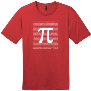 Red Pi T-Shirt - Image One