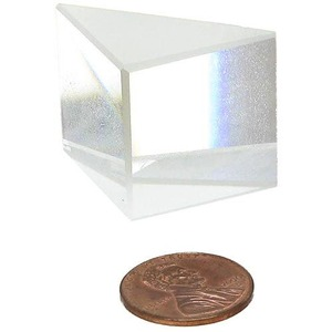 Right-Angle Optical Glass Prism - Image One