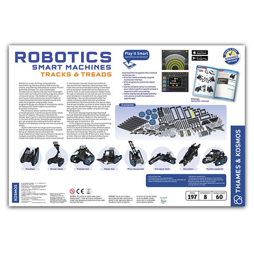 Robotics Smart Machines: Tracks & Treads - Image two