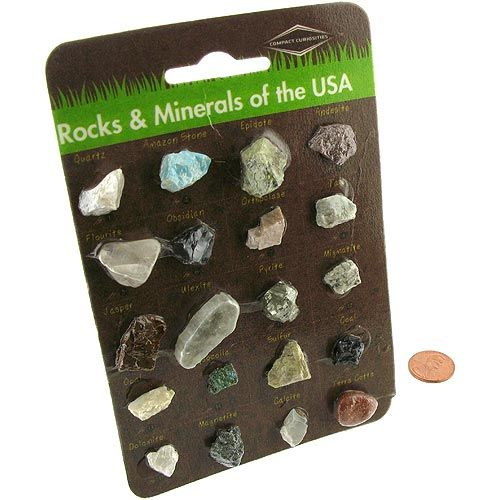 Rocks and Minerals of the USA - Image one