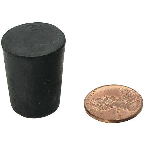 Rubber Stopper - Size 2 - Image one