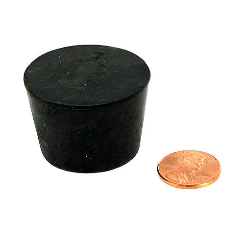 Rubber Stopper - Size 7 - Image one