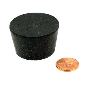 Rubber Stopper - Size 8 - Image One