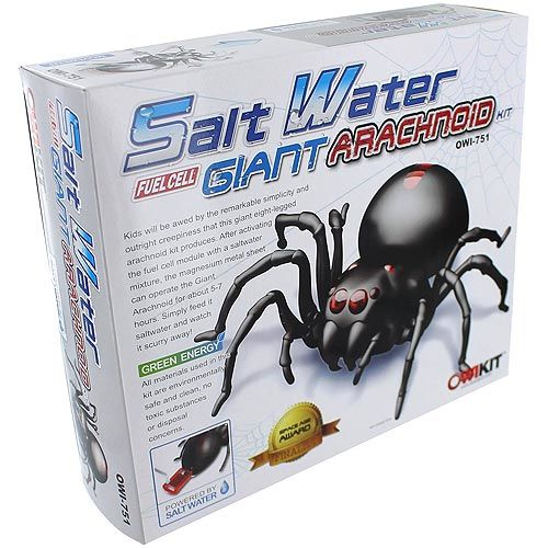 Salt Water Fuel Cell Arachnoid - Image one