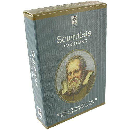 Scientists Playing Cards - Image one