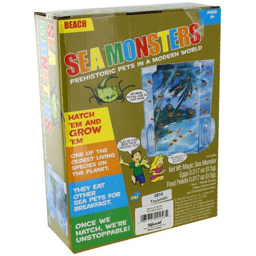 Sea Monsters Triops Kit - Image two
