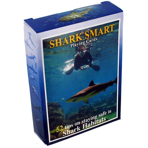 Shark Smart Playing Cards - Image one