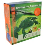 Simulated Frog Dissection Kit.