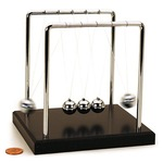 Newtons Cradle - Regular - 5.5 inches.