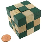 Snake Cube Puzzle.