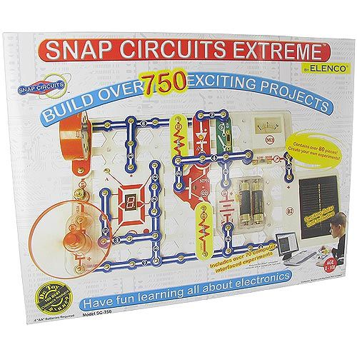 Snap Circuits Extreme 750-in-1 with PC interface - Image one