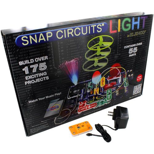 Snap Circuits Light with AC Adapter Kit - Image one
