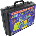 Snap Circuits Sound & Light Deluxe Kit.