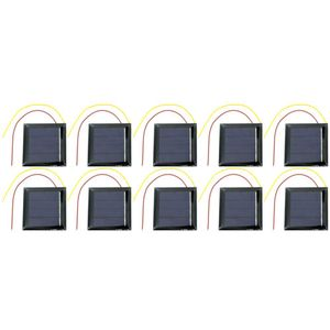 10 pack Solar Cells - 2V 130mA 54x54mm - Image One