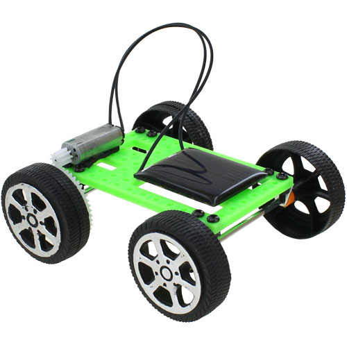 Solar DIY Micro Car Kit - Image one