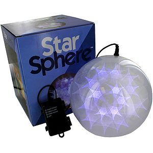 Star Sphere - 8 inch with 36 LEDs (Image One) @ xUmp.com