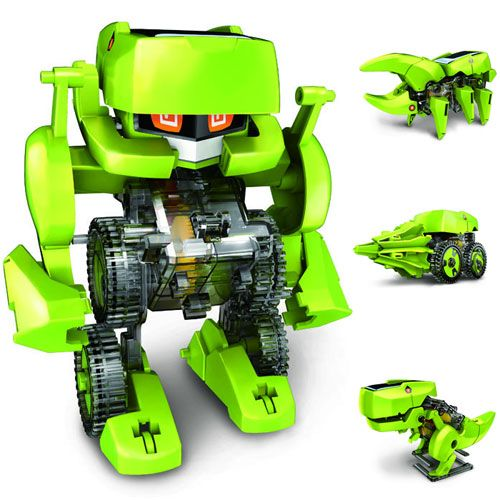 T4 Transforming Solar Robot - Image two