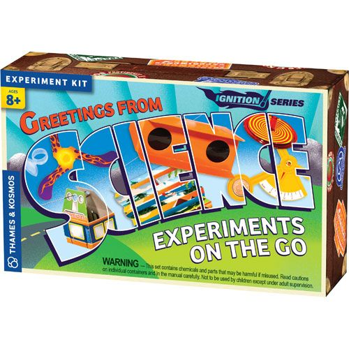 Science Experiments On The Go Kit - Image one